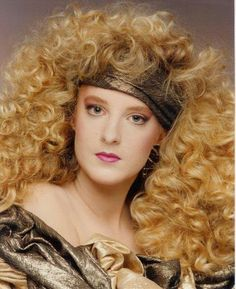 """Everyone remembers """"Glamour Shots"""" Wishing I could rock this look everyday!  TRUE STORY!"""