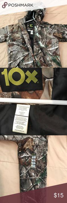 Boys mossy oak jacket Hooded windbreaker/rain resistant. New. 14-16 Jackets & Coats Utility Jackets