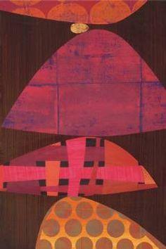 Mambo von Künstler Rex Ray, Abriss, Auszug, Entnahme, Abstrakt, Abziehung, Allgemein, Abstrakte, Entwendung