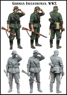 German Infantryman in WW2. A 1/35 scale resin figure now available from Evolution Miniatures. Click on the pic for more and FREE Worldwide shipping on all orders of $90 or more