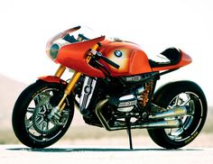 BMW Concept Ninety motorcycle is a tribute to BMW Motorrad design icon which turns to 40 this year.