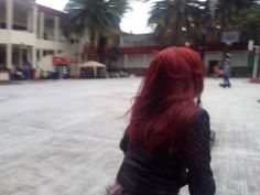 Really red hair