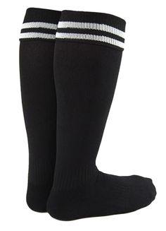 Uooja - Lian LifeStyle Unisex Adult 2 Pairs Knee Length Sports Socks for Baseball/Soccer/Lacrosse L Black - Walmart.com - Walmart.com Combat Boots Socks, Rain Boot Socks, Socks For Flats, Thigh High Leg Warmers, Thigh High Tights, Thigh High Socks, Womens Wool Socks, Girls Knee High Socks, Black High Boots