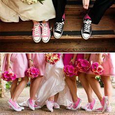 Ślub na luzie czyli Panna Młoda w trampkach -> http://bootsy.pl/blog/ciekawostki/panna-mloda-w-trampkach