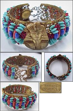 Egyptian Revival-Miriam Haskell
