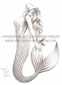 Mermaid 4 by literary-magic.deviantart.com on @deviantART                                                                                                                                                                                 More