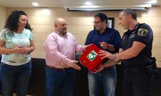 DEFIBRILLATOR DONATED BY DOLORES BUSINESSMAN - http://www.theleader.info/2017/06/25/defibrillator-donated-dolores-businessman/
