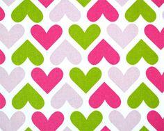 I Heart U Chartreuse / Candy Pink--Hannah
