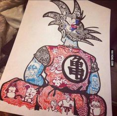 THIS! i fucking want THIS as my dragon ball tattoo