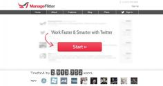 Manageflitter, la suite per gestire Twitter