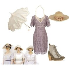 Downton Abbey Fashion! Outfit inspired by the Show! #Downton #Abbey #Fashion