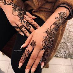 Tribal Henna Designs, Pretty Henna Designs, Finger Henna Designs, Arabic Henna Designs, Full Hand Mehndi Designs, Eid Mehndi Designs, Stylish Mehndi Designs, Mehndi Designs For Girls, Mehndi Designs For Fingers