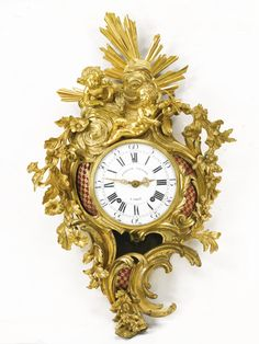 Search Sales, Auctions, Stories, Exhibitions and Events Large Vintage Wall Clocks, Antique Clocks, Lenoir, Unusual Clocks, Classic Clocks, Wall Clock Online, Vintage Wood, Vintage Stuff, European Paintings