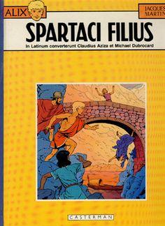Spartaci Filius - Latin Language Comic Book