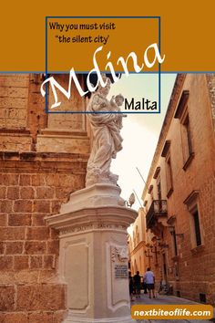 Mdina ancient walled city of Malta and the Knights visit Mdina Malta the silent city Europe Travel Tips, Travel Guides, Travel Destinations, European Destination, European Travel, Capital Of Malta, Malta Beaches, World Of Wanderlust, Walled City