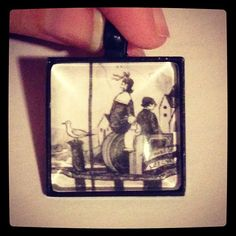 Series of Unfortunate Events Necklace Charm, $10.00, FREE shipping anywhere in the U.S.  www.etsy.com/shop/PortableMagic