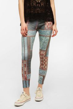 BDG Tapestry Patchwork Legging  #UrbanOutfitters