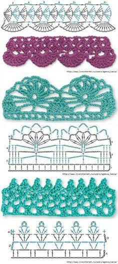 crochet barrado
