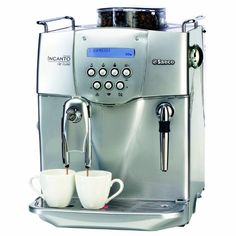 Philips Saeco RI9724/47 Incanto Deluxe Automatic Espresso Machine, Stainless Steel Saeco Brewing System allows you to choose the strenghth and consistancy of your coffee by turning a dial. 3 programmable beverage settings and ceramic disc grinder. Rapid Steam technology, you can easily froth milk to quickly turn an espresso into a cappuccino or latte. Adjustable dispensing head that can accommodat... #Saeco #Kitchen