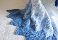 Lady by the Bay - Crocheted Chevron Baby Blanket Pattern Chevron Crochet Blanket Pattern Baby, Crochet Baby Blanket Sizes, Chevron Baby Blankets, Chevron Blanket, Baby Chevron, Baby Patterns, Crochet Patterns, Afghan Patterns, Crochet Ideas