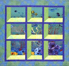 Undersea - attic windows workshop