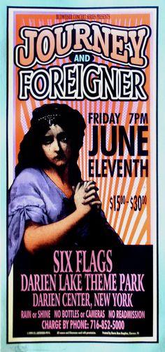 Date: June 11, 1999 Performers: Journey & Foreigner Venue: Darien Center, Buffalo - NY Designer: Mark Arminski