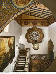 Santa Barbara Courthouse ceiling...remind me to go to the Courthouse, when we go to Santa Barbara!!
