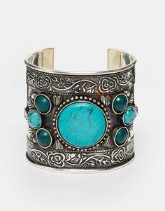ASOS+Boho+Stone+Cuff+Bracelet