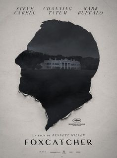 Cannes Film Festival movie poster for the Bennett Miller film, Foxcatcher.