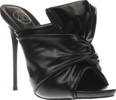 Missguided Black Knotted Front Mule Womens High Dont worry the only thing thats in a twist this party season is the Missguided Knotted Front Mule. Arriving in black, the slip on high heel features a knotted man-made upper for an ultra-chic vibe. A  http://www.comparestoreprices.co.uk/january-2017-8/missguided-black-knotted-front-mule-womens-high.asp