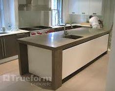concrete island countertops - Google Search