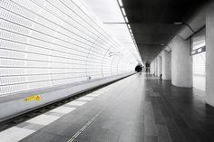 Triangeln railway station by Johannes Heuckeroth #Arquitecture #Design #Inspiration