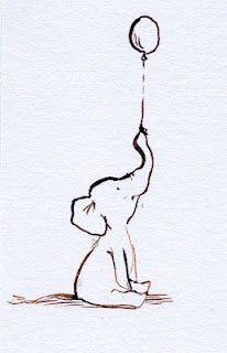 For Cletus @Ashley Felts  Baby elephant. Balloon. ideas