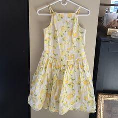 Loft Lemon Dress Loft Lemon Dress. Size 0P. Worn once. Lined. LOFT Dresses