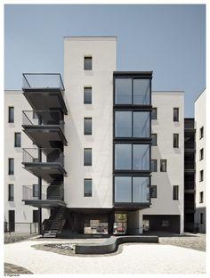 architecture   balcony   window   open   estudio untercio   vallecas 47   madrid, spain
