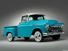 old ford or chevy pick up trucks Vintage Pickup Trucks, Classic Pickup Trucks, Chevy Pickup Trucks, Antique Trucks, Chevy Pickups, Gmc Trucks, Chevy Ssr, Lifted Chevy, Diesel Trucks