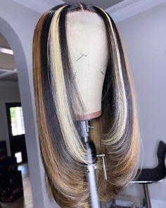 Baddie Hairstyles, Weave Hairstyles, Teen Hairstyles, Hairdos, Curly Hair Styles, Natural Hair Styles, Twisted Hair, Creative Hair Color, Hair Laid