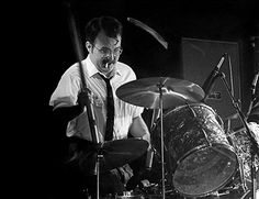 Bun E. Carlos of the Rock group Cheap Trick performs at The Paradise on June 9, 1978 in Boston, Massachusetts.