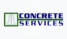 Logo and Business Card for Concrete Services