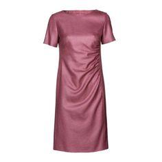 Sukienka drapowana na boku - PATRIZIA ARYTON