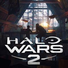 Halo Wars II - Unused scene., Wardenlight Studio on ArtStation at https://www.artstation.com/artwork/Z19dN