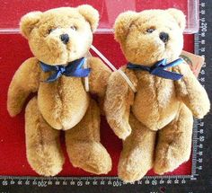 20131 $59 or best offer - blue ribbon - retired boyds bears from 1990's free ship worldwide -paypal ok - you get 1 of the 2 bears shown