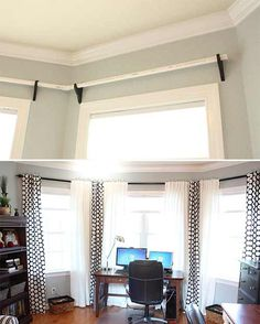 How To Make A Very Customizable PVC Curtain Rod