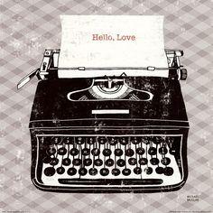Michael Mullan Vintage Analog Typewriter