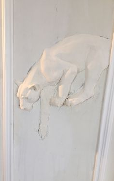 Plaster Wall Art Molds - Many people dream of lying on a tropical sandy beach lined with palm trees while listening to soun 3d Wall Art, Wall Murals, Wall Art Decor, Plaster Art, Plaster Walls, Animal Sculptures, Wall Sculptures, Cement Art, Clay Art Projects
