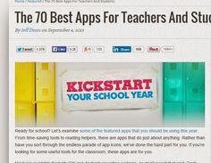 Daf Lehrerzimmer - Infos und Tipps für DaF-Lehrer *(noch) eine Seite von Virginia D'Alò: die besten Apps für Lehrer und Schüler