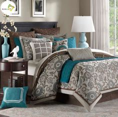 turquoise and grey bedroom turquoise and brown bedroom ideas best paint color 17591