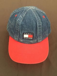 20184e99cac464 Adorable Tommy Hilfiger Ball cap for baby boys.