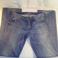 4515ffe683 Denim and more denim · 7 for All Mankind Womens Bootcut Blue Jeans Size 31   7ForAllMankind  BootCut Old Jeans