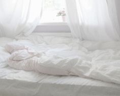 love white bedding